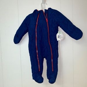 NWT Koala Baby one piece hooded jumpsuit